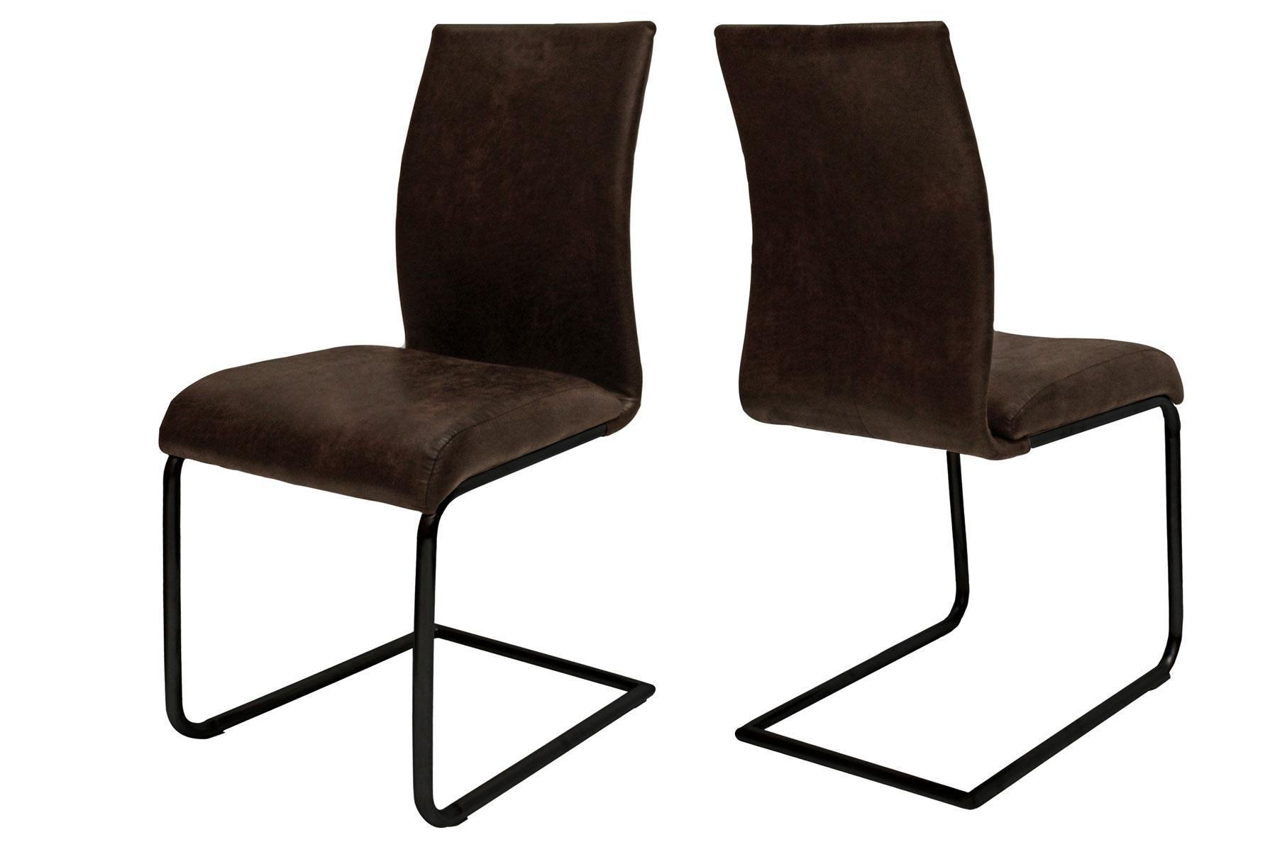 Jedálenská stolička Gwan / tmavo hnedá