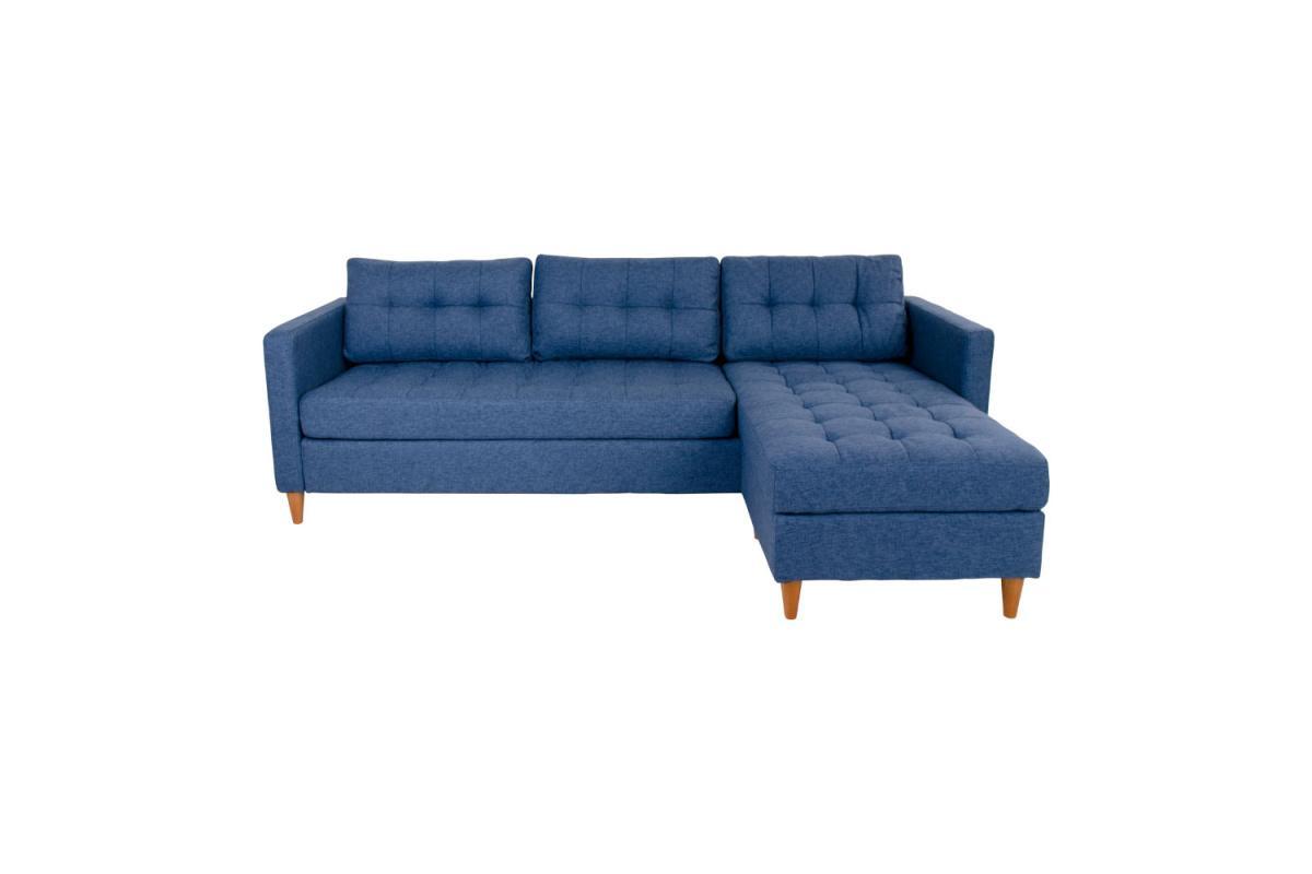 Dizajnová sedačka Brianna, modrá