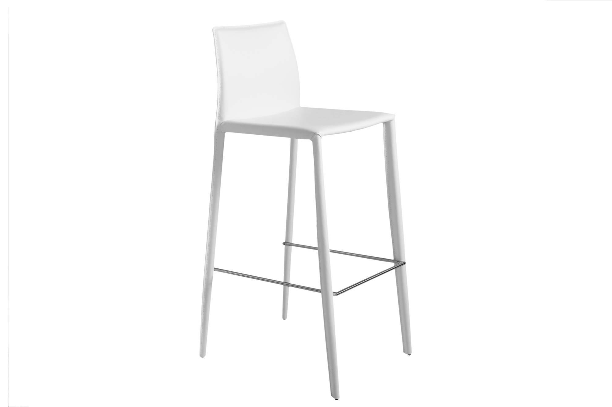 Dizajnová barová stolička Neapol White