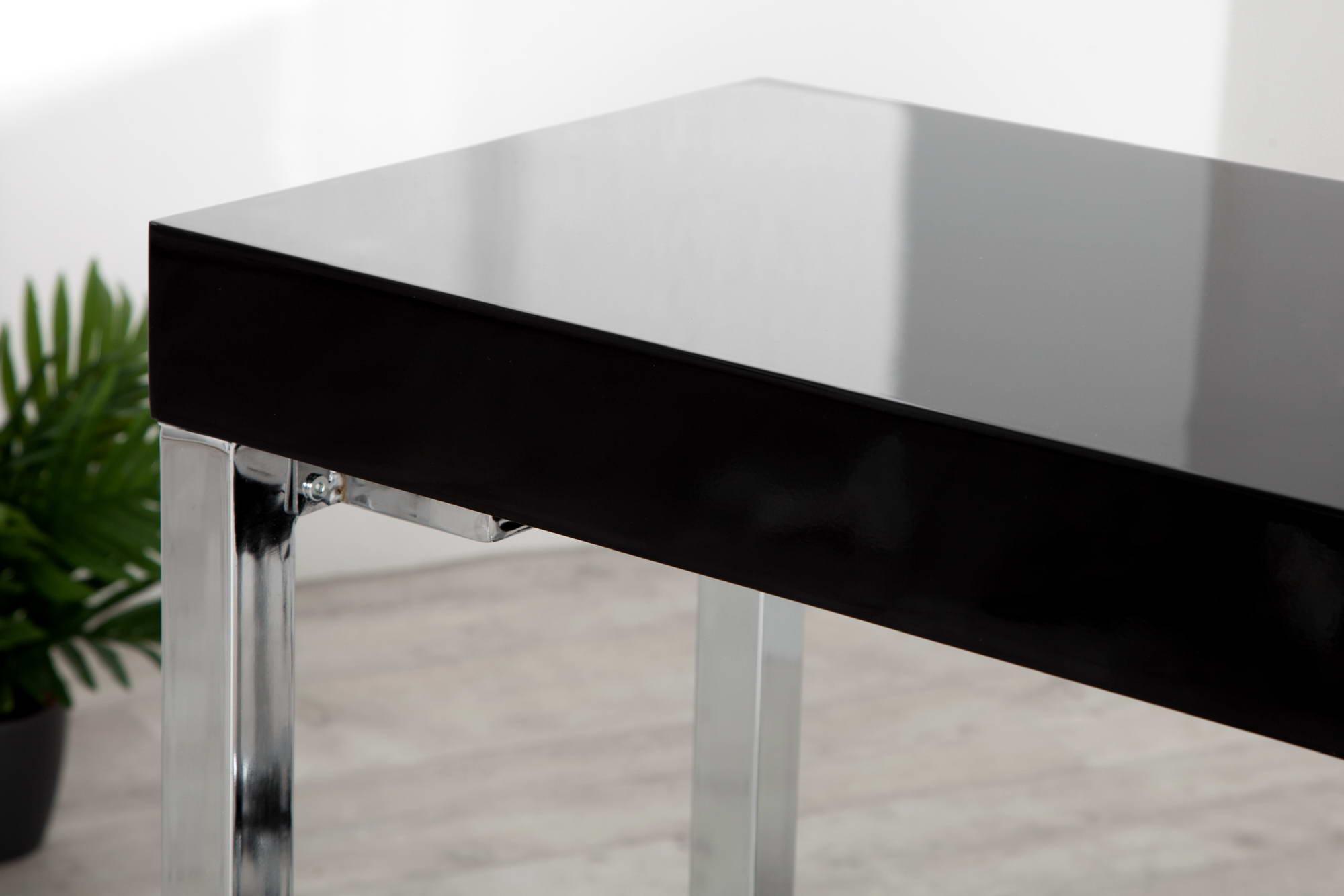Písací stôl Office čierny
