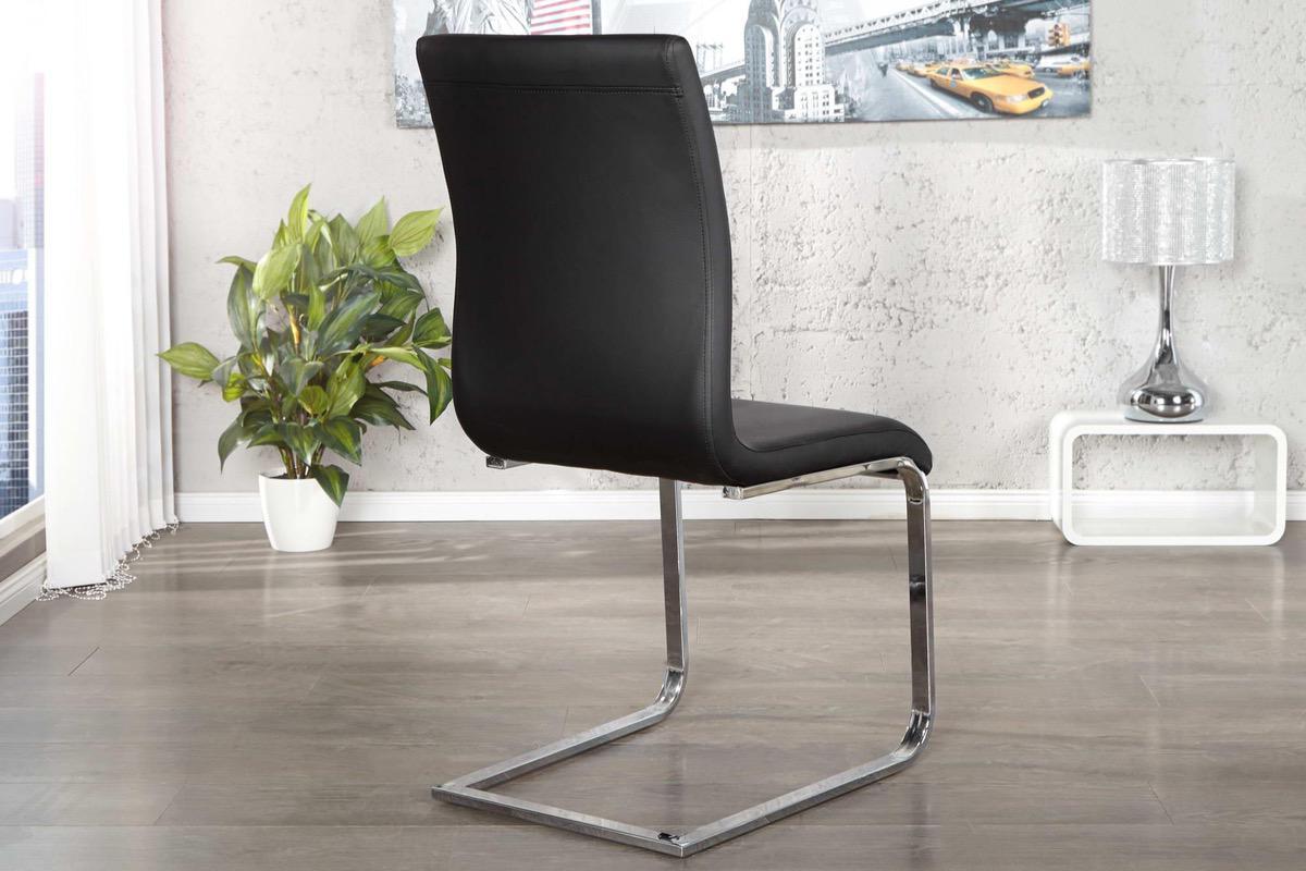 Stolička Slim čierna