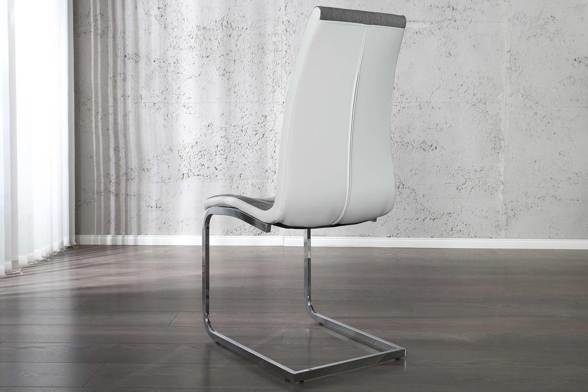Jedálenská stolička Liverpool sivá