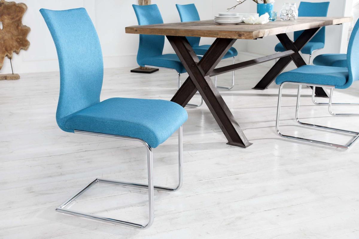 Stolička Bland modrá