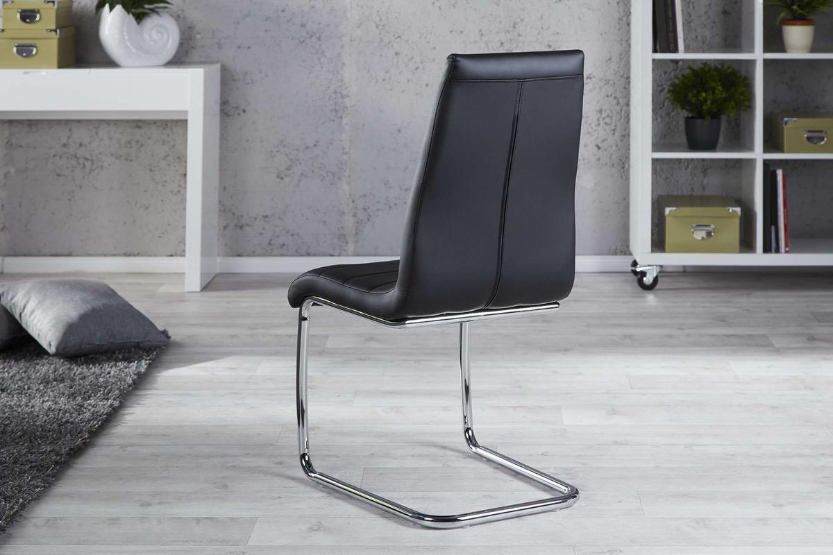 Stolička Neo čierna