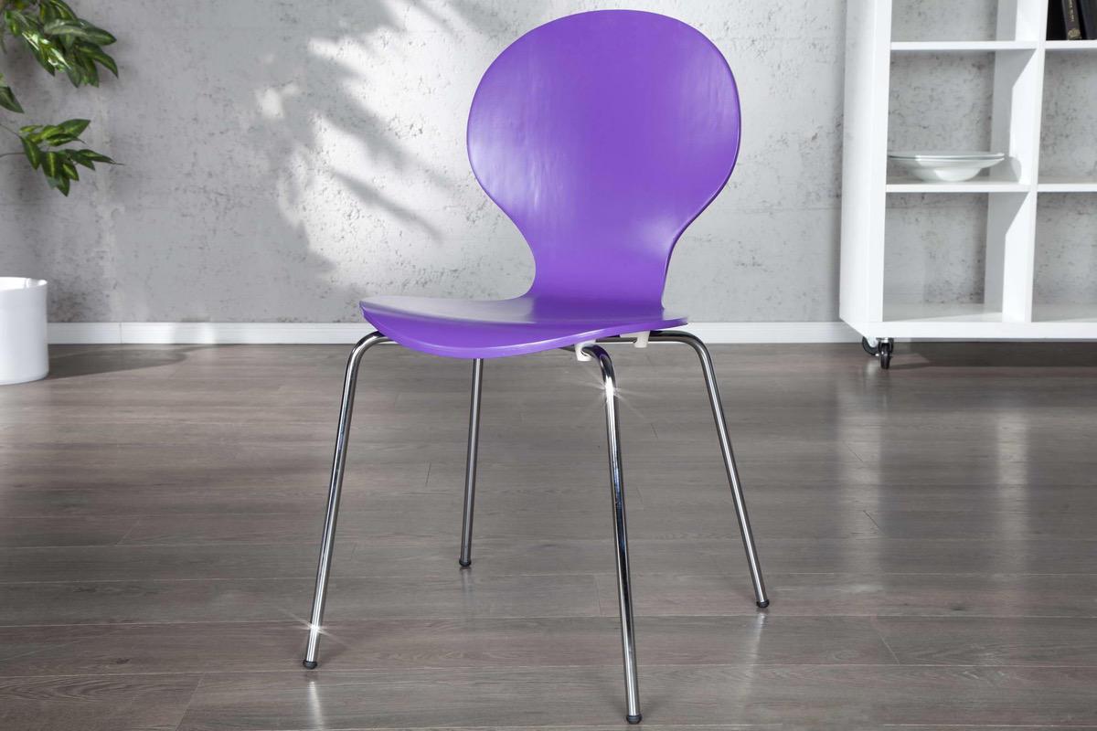 Stolička Frame fialová