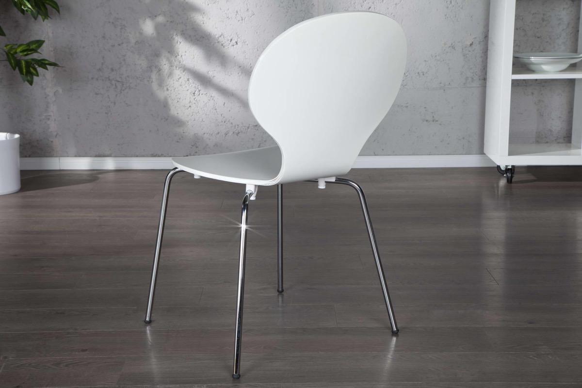 Stolička Frame biela