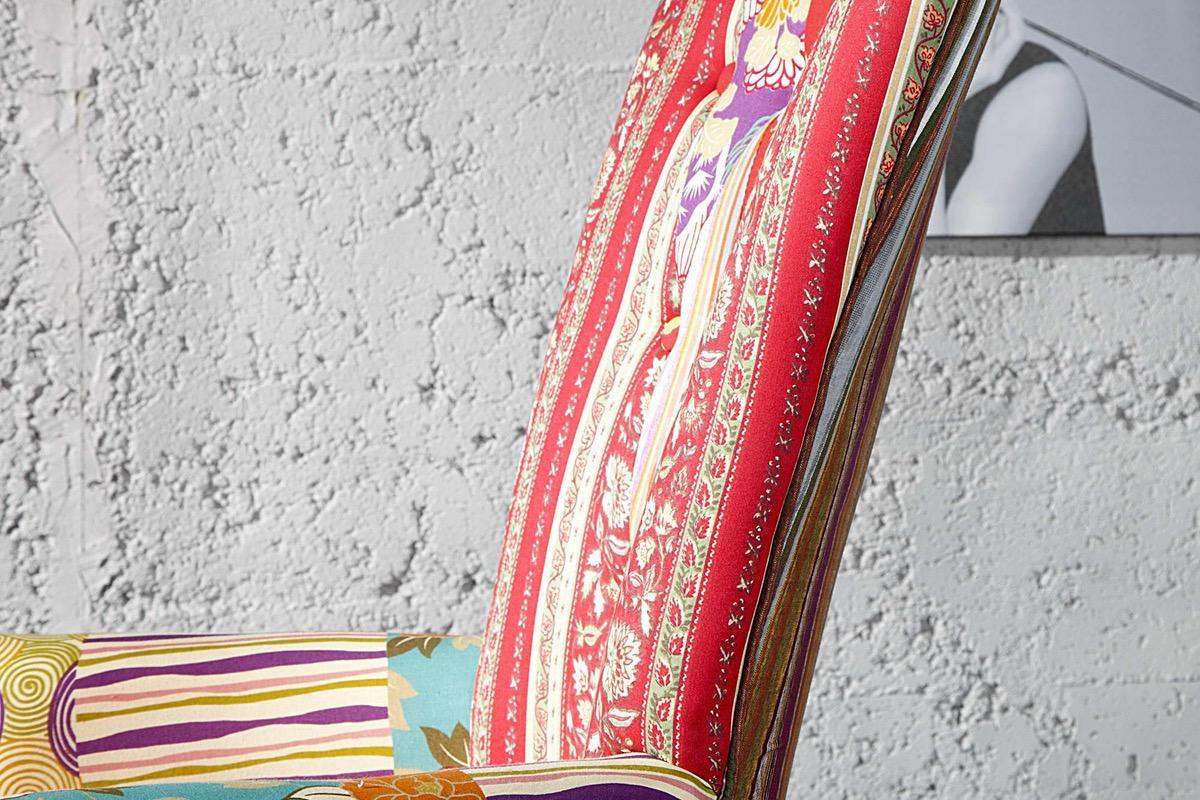 Kreslo Cordoba patchwork