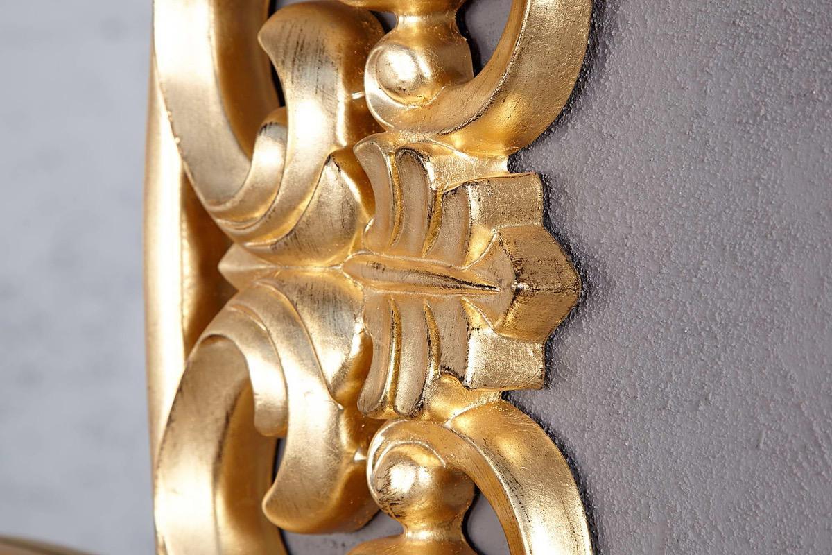 Zrkadlo Veneto zlaté Antik 75cm