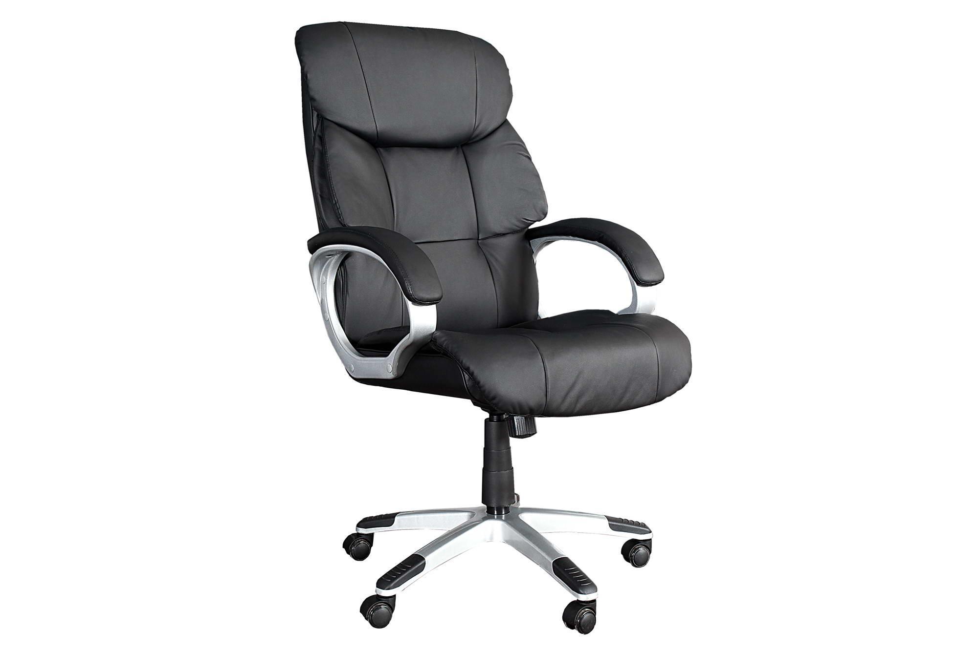 Kancelárska stolička Powerful do 150kg čierna