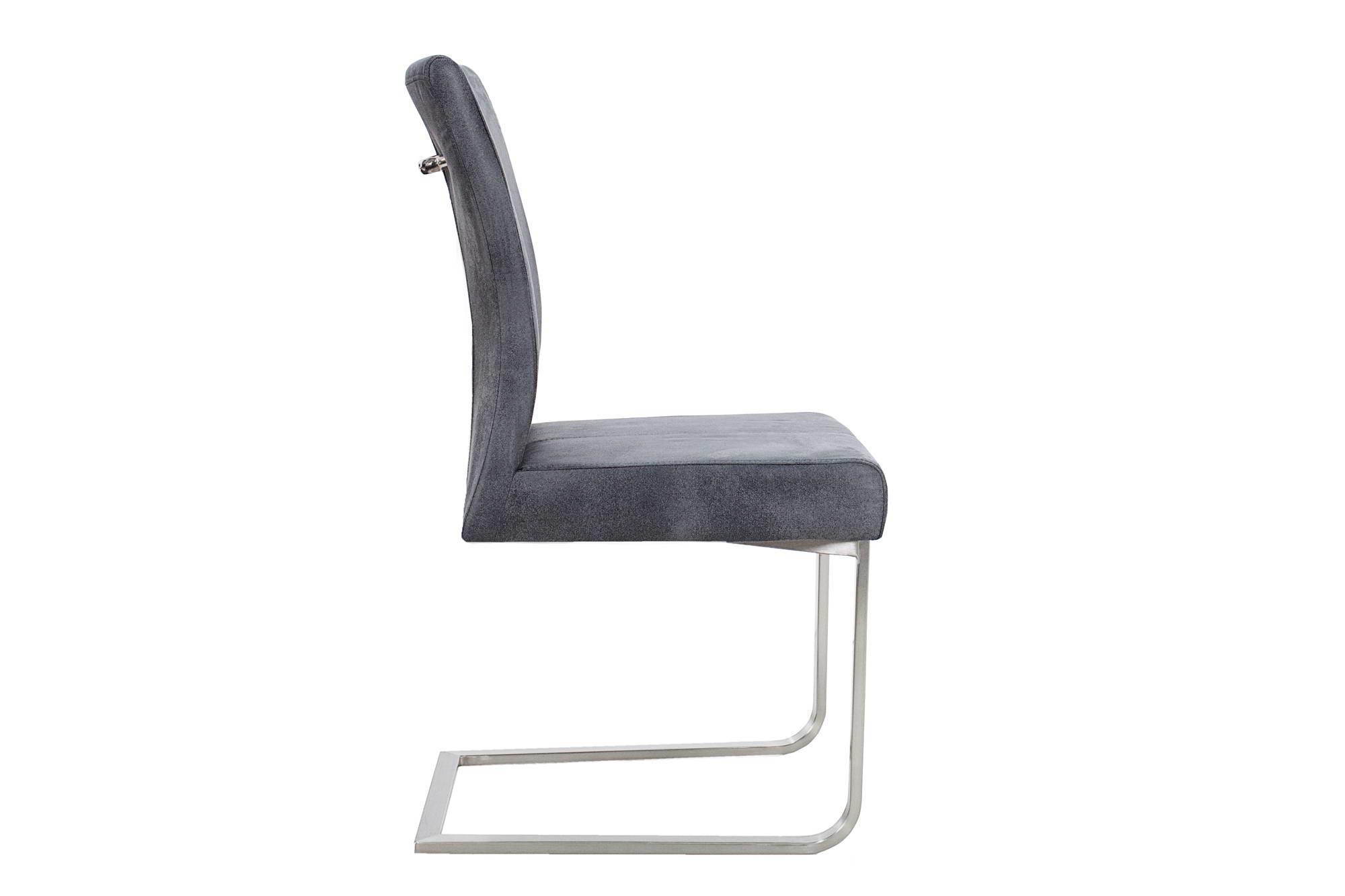 Stolička Bull II Vintage sivá