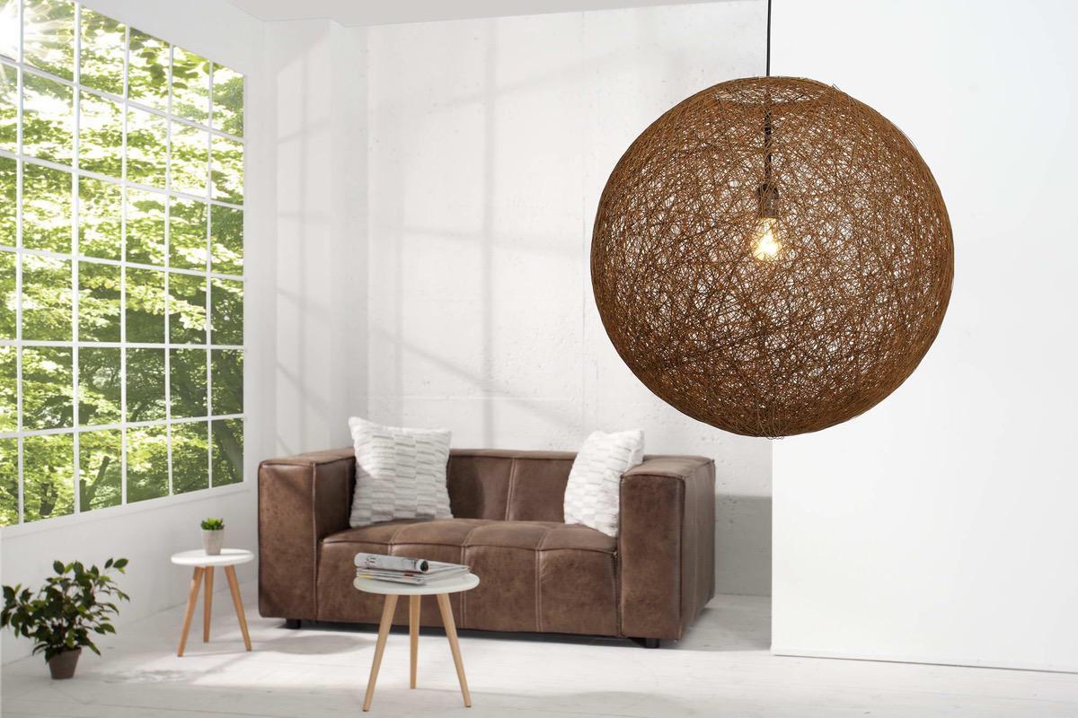 Lampa Wrap hnedá 60cm