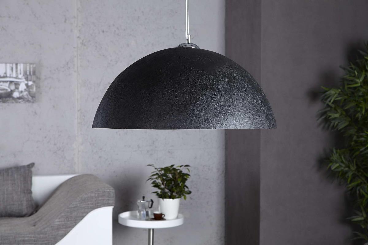 Lampa Glimer 50cm čierno-zlatá