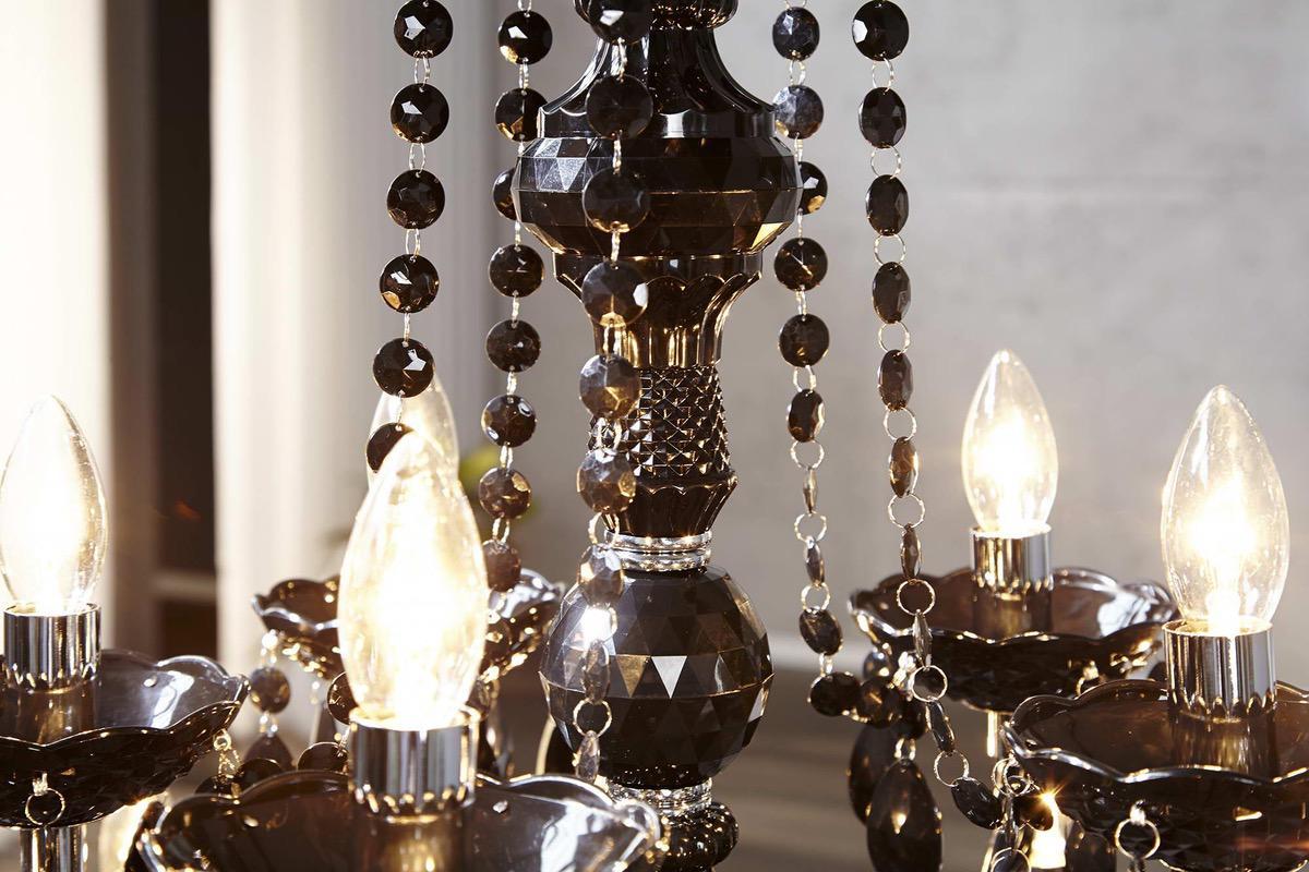 Luxusný luster Barisimo XL Čierny