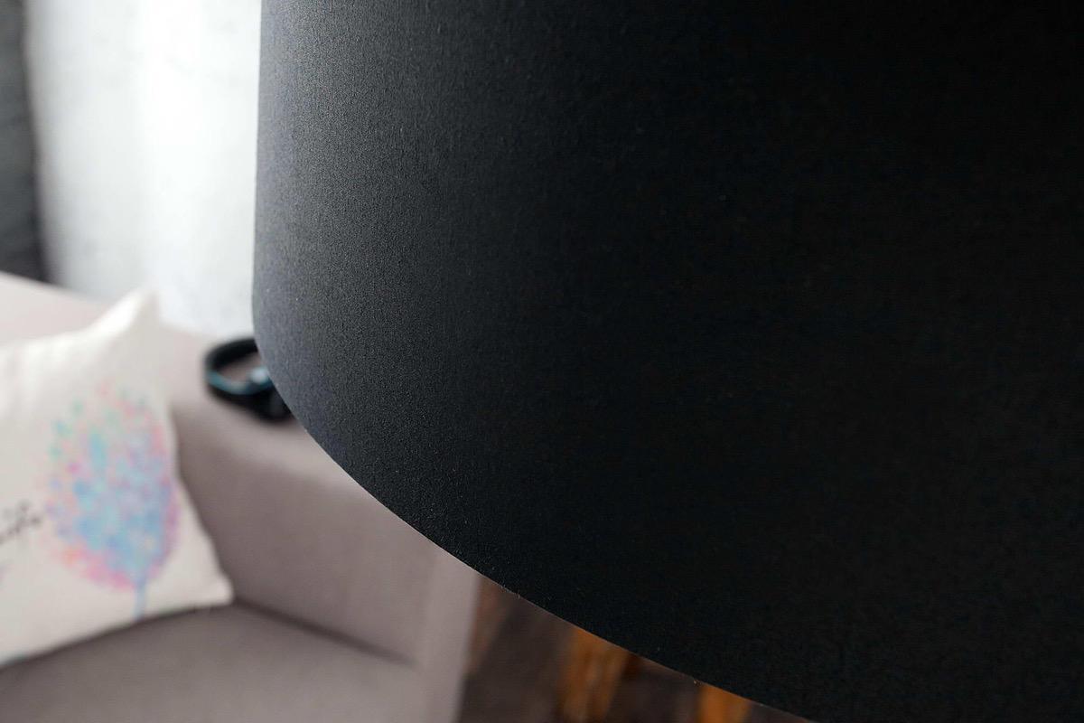 Dizajnová stojanová lampa Arch čierna