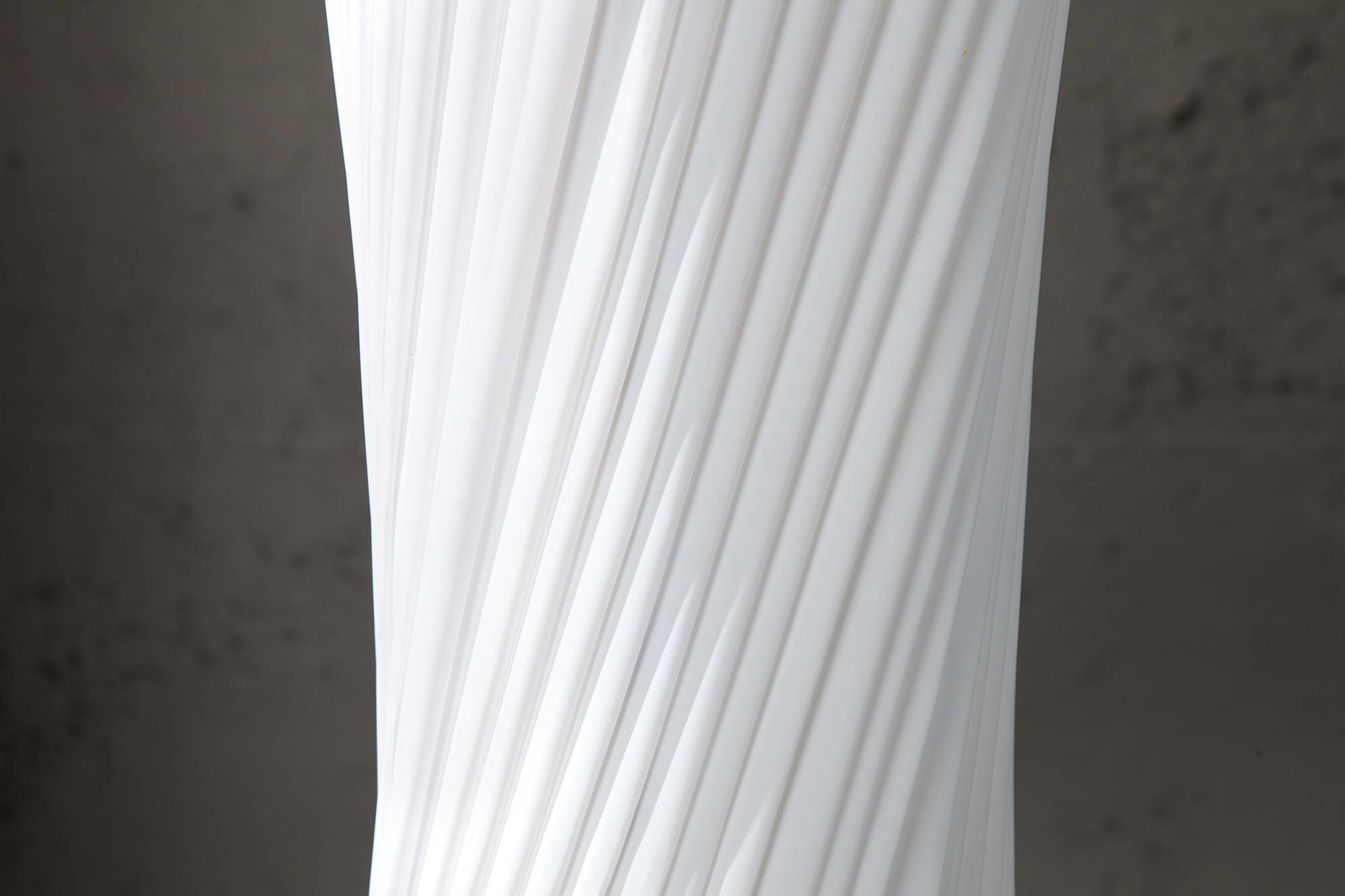 Stojanová lampa SPIRAL XXL biela