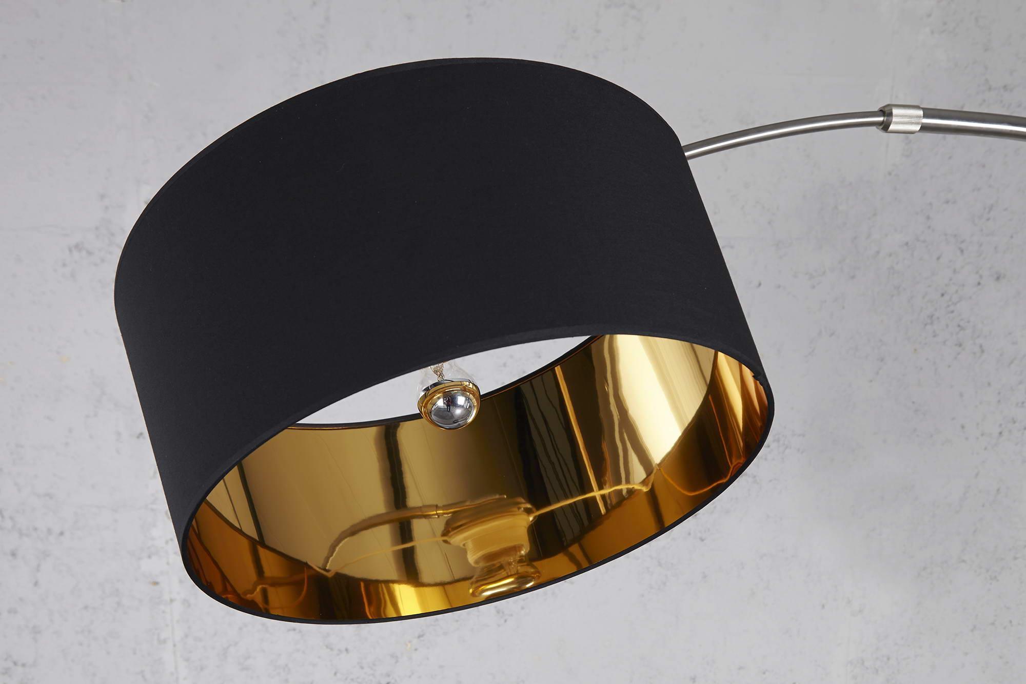 Stojanová lampa SNAKE čierno zlatá