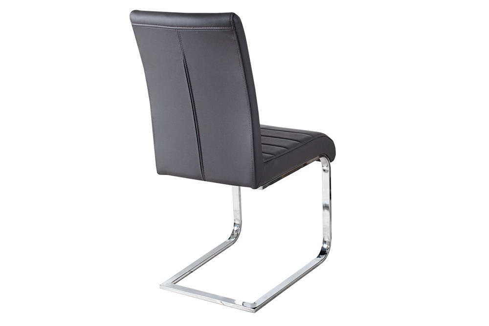 Stolička Gilbert sivá