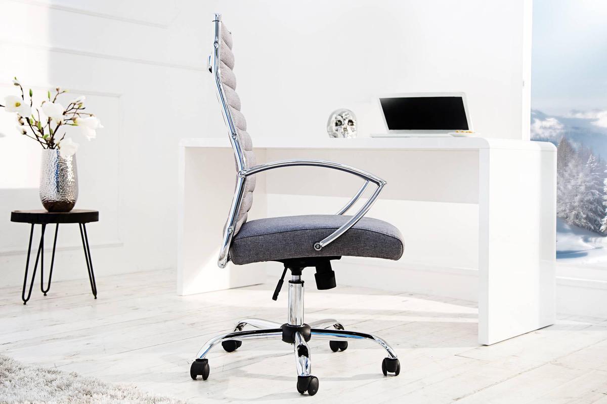 Kancelárska stolička Boss sivá