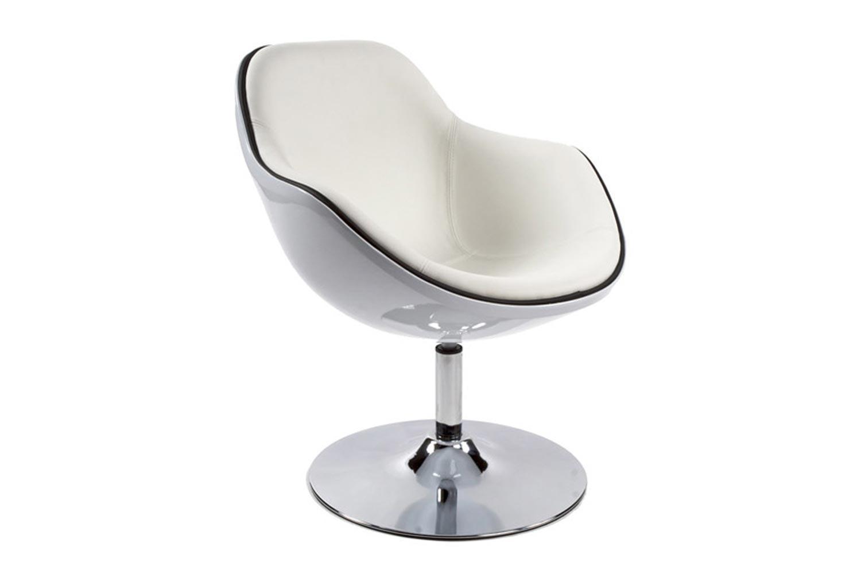 Kreslo Fastchair bielo-čierne