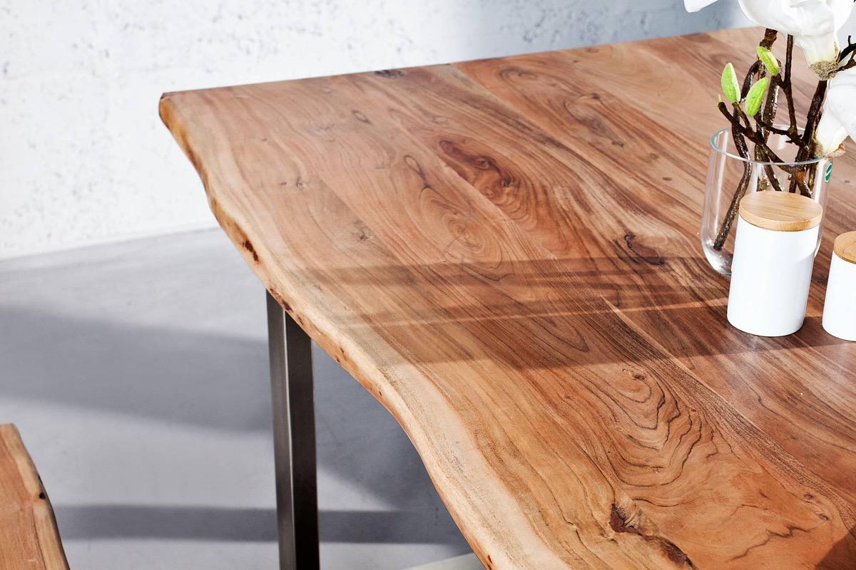 Luxusný jedálenský stôl z masívu Massive II 180cm