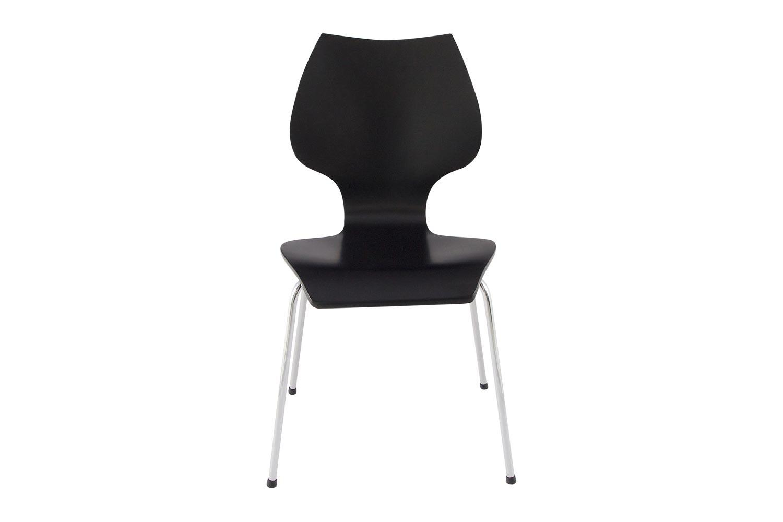 Moderné stolička Elipsa čierna