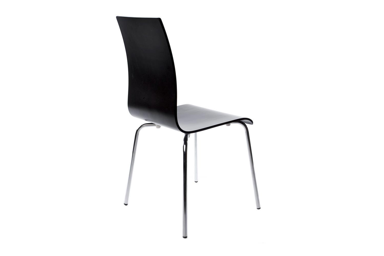 Moderná stolička Vogel čierna