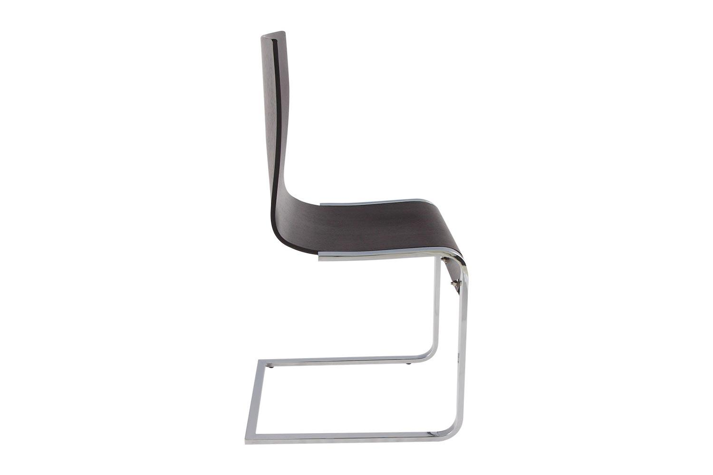 Moderné stolička Acap hnedá