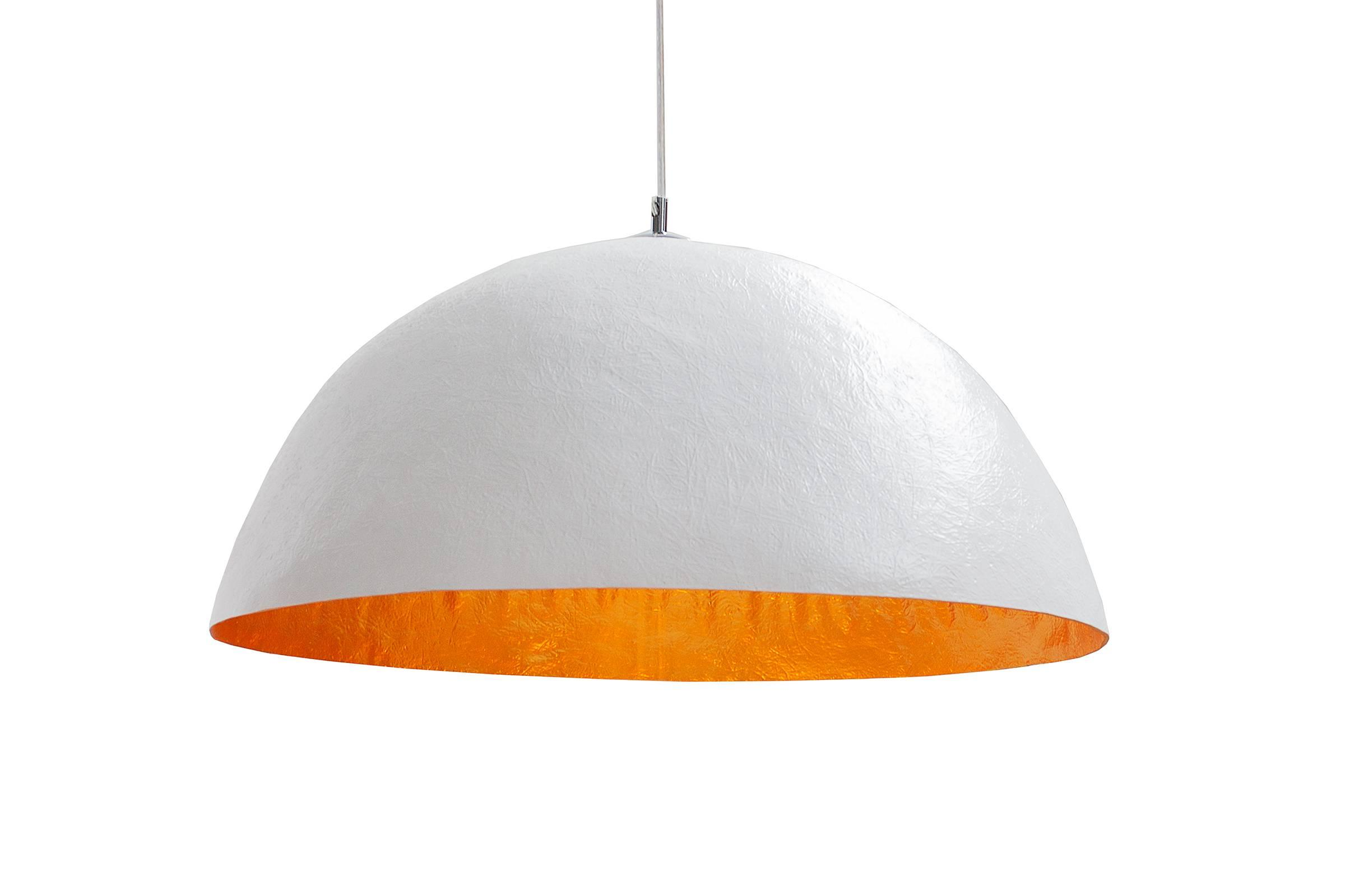 Lampa Atelier bielo-zlatá 50cm
