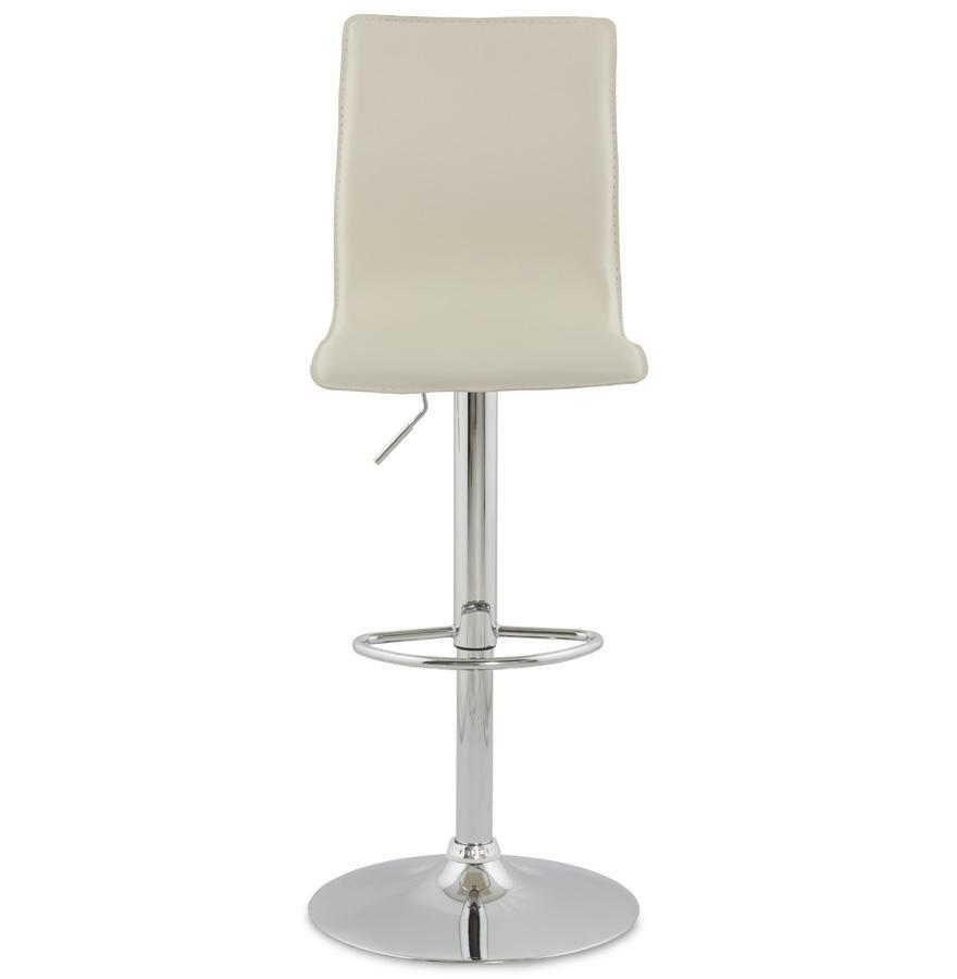 Dizajnová barová stolička Liam krémová