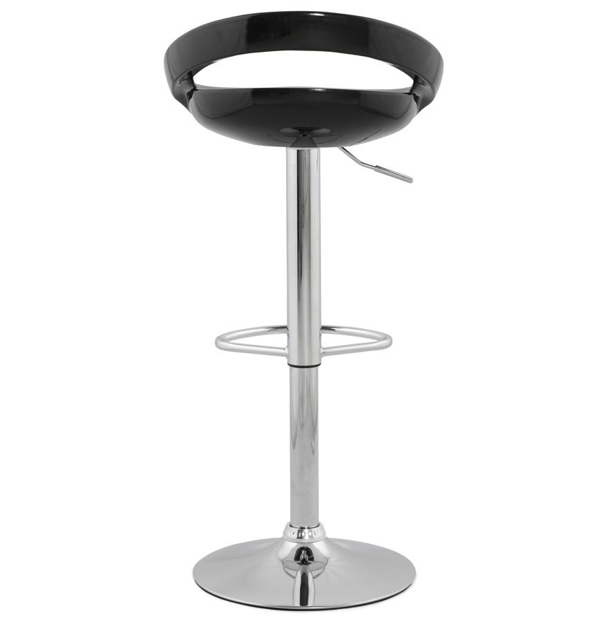 Dizajnová barová stolička Mason čierna