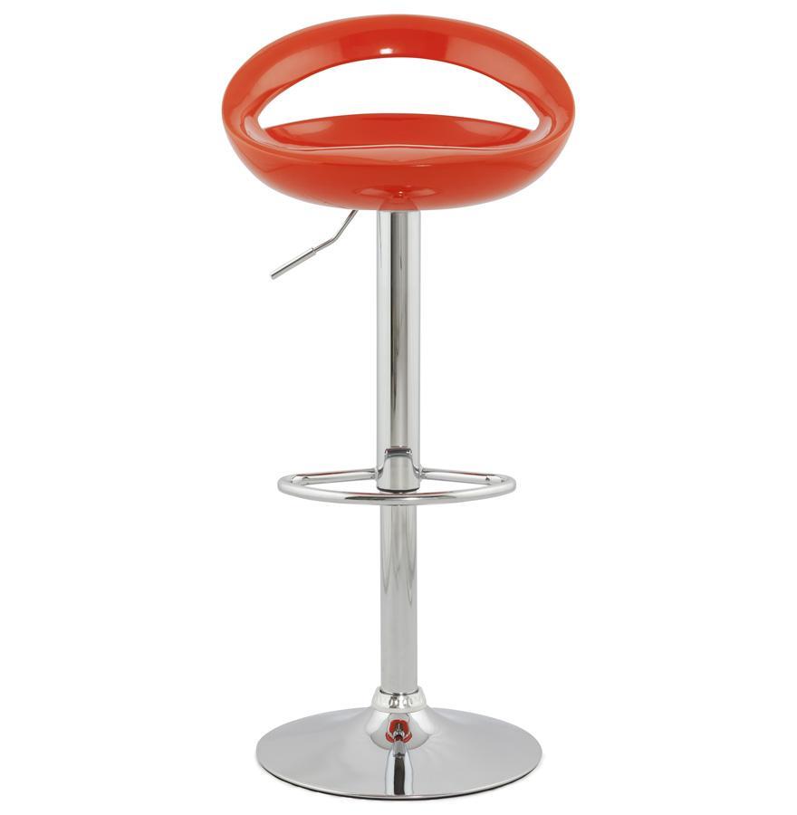 Dizajnová barová stolička Mason oranžová