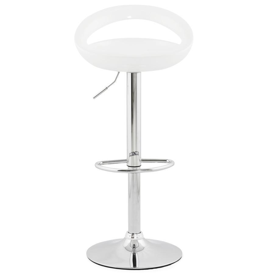 Dizajnová barová stolička Mason biela