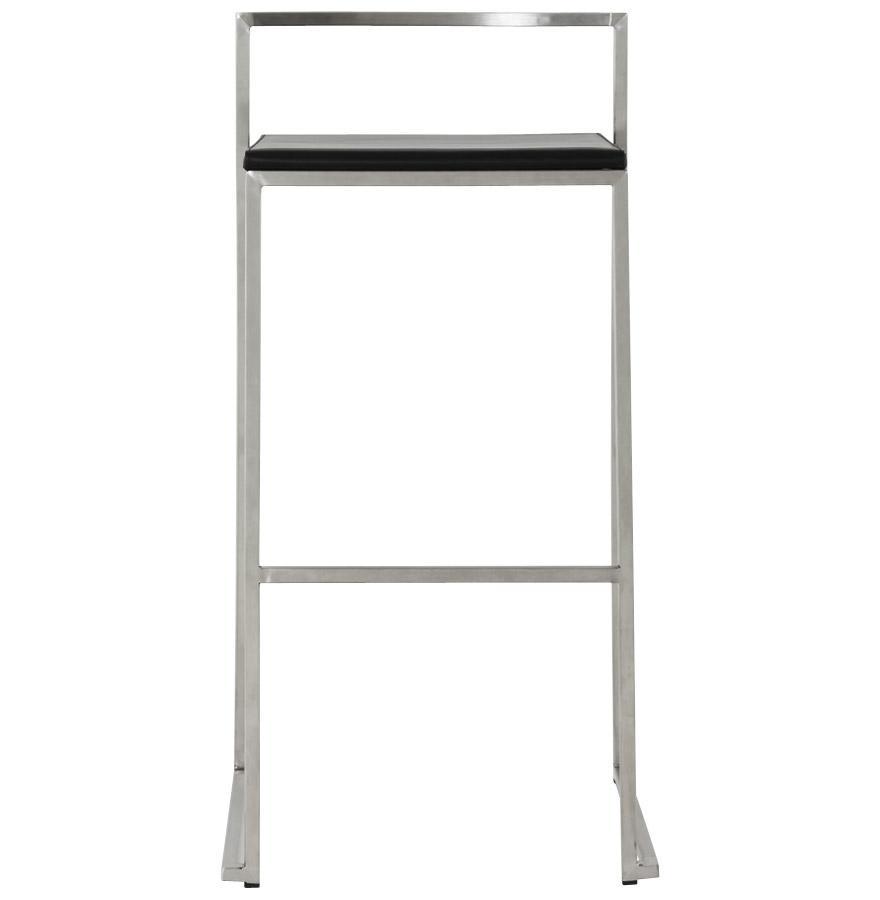 Dizajnová barová stolička Ethan čierna