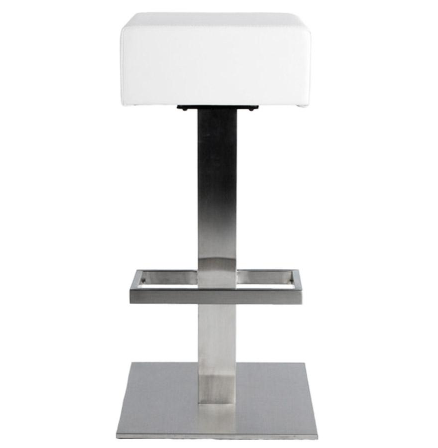 Dizajnová barová stolička Caden biela - SKLADOM na SK