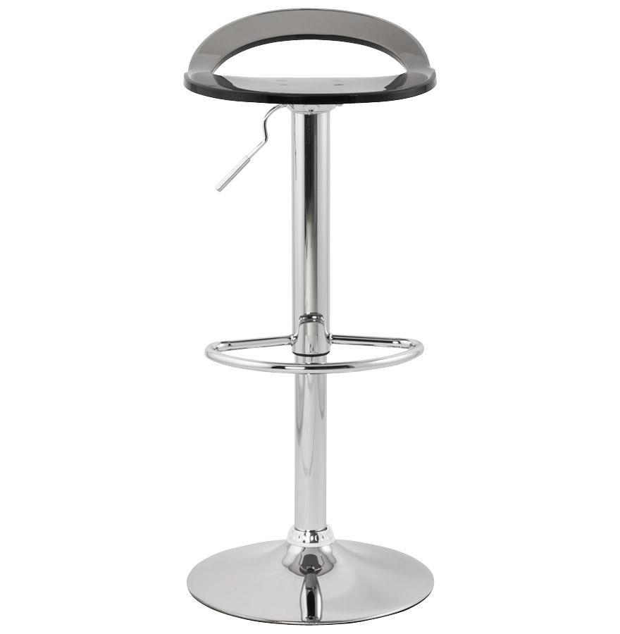 Moderná barová stolička Jackson dymová