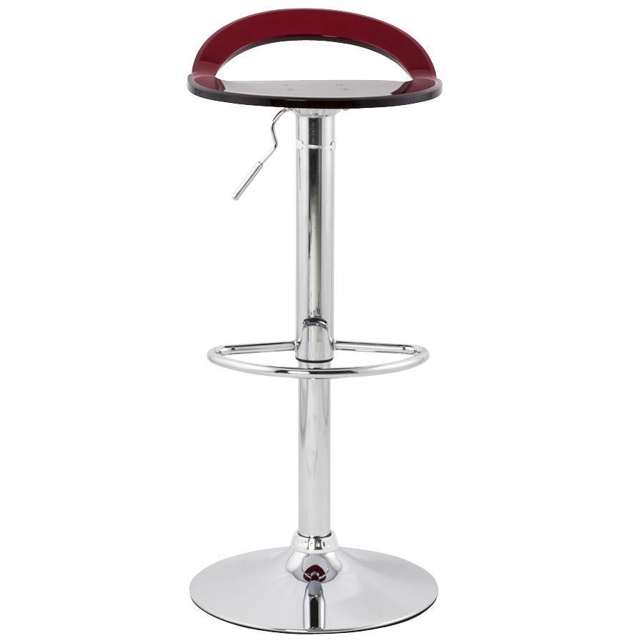 Moderná barová stolička Jackson červená