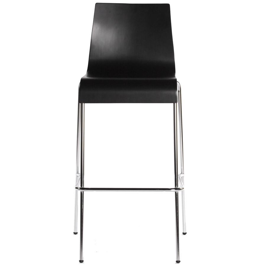 Moderná barová stolička Aiden čierna