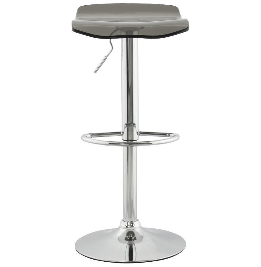 Moderná barová stolička Lucas dymová