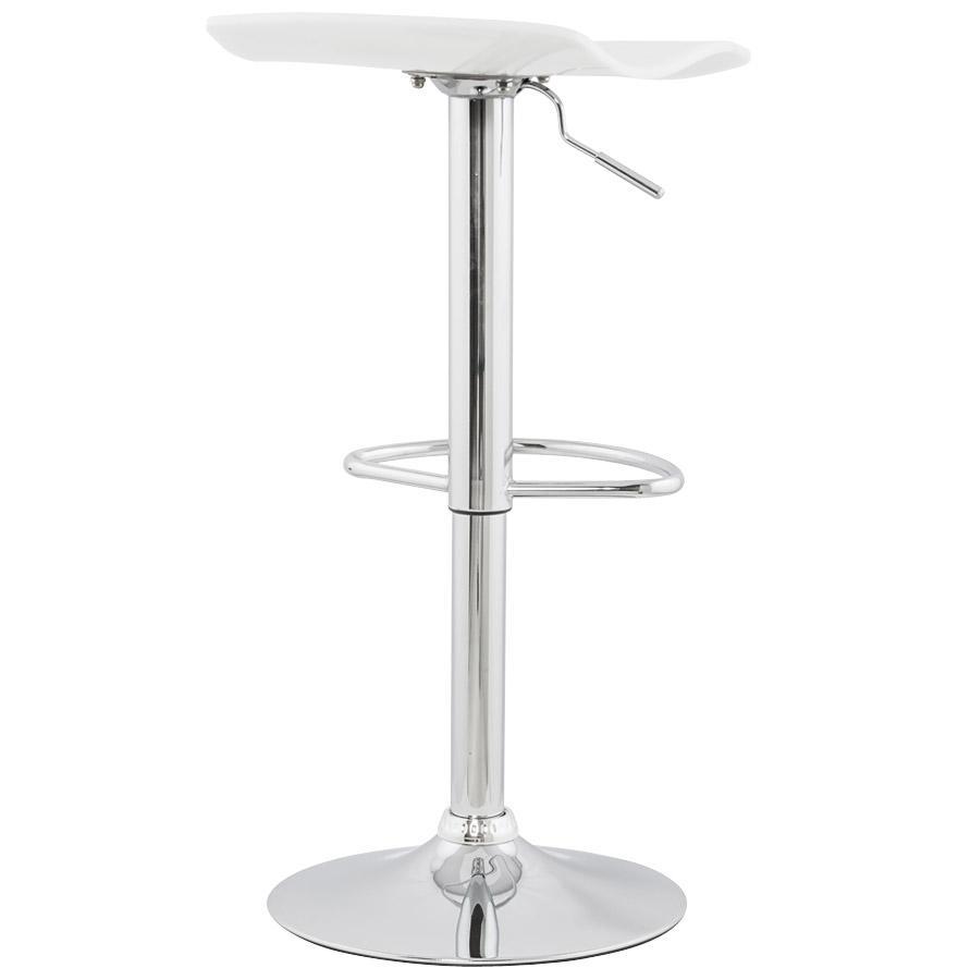 Moderná barová stolička Lucas biela