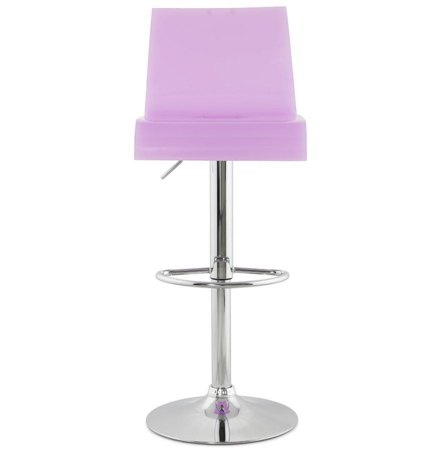Moderná barová stolička Logan ružová