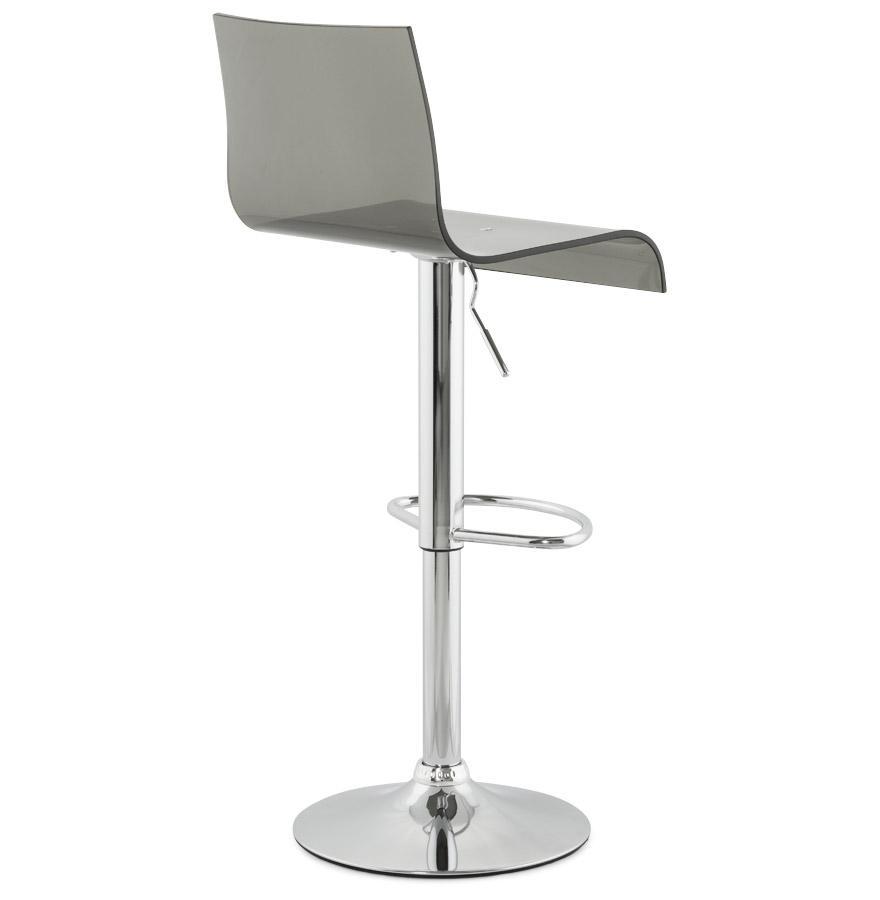 Moderná barová stolička Logan transparentná