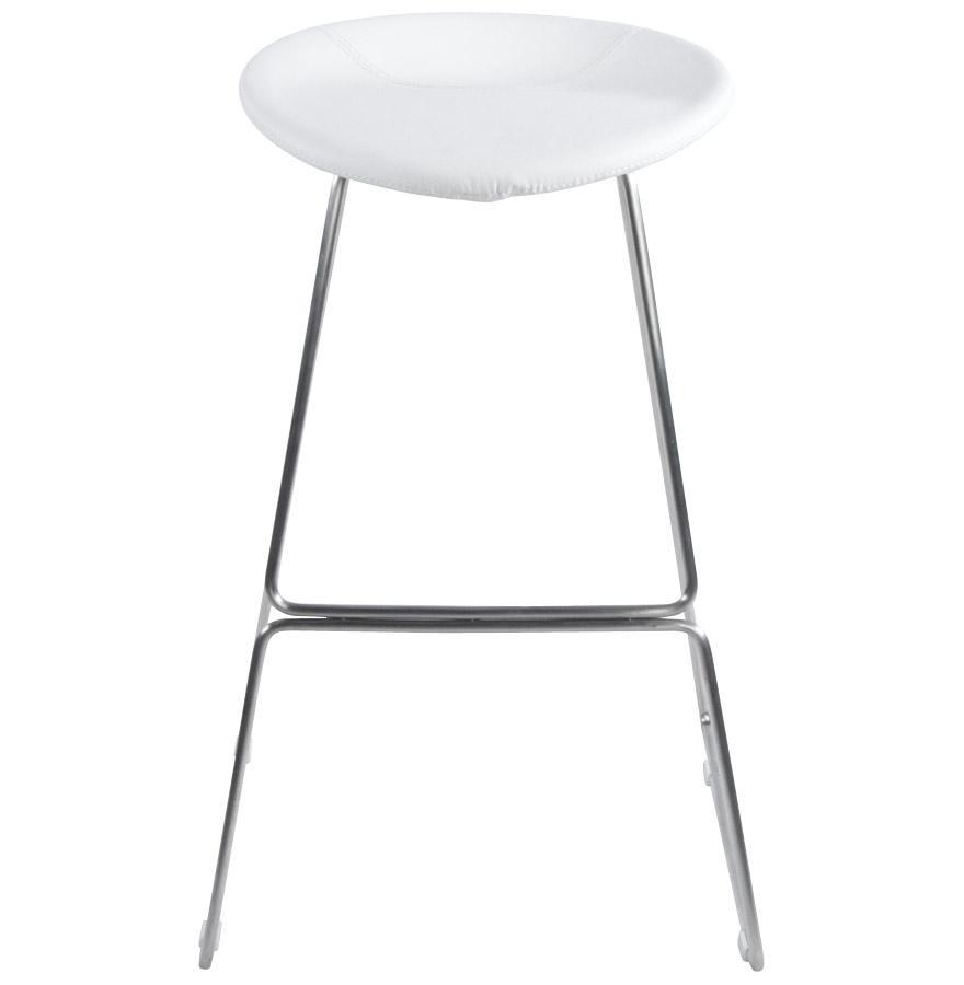 Moderná barová stolička Jack biela