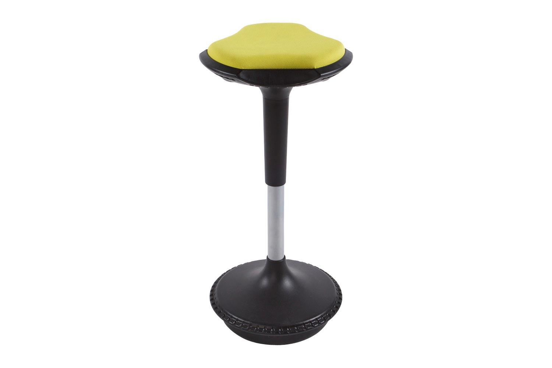 Moderná barová stolička Caleb horčicová