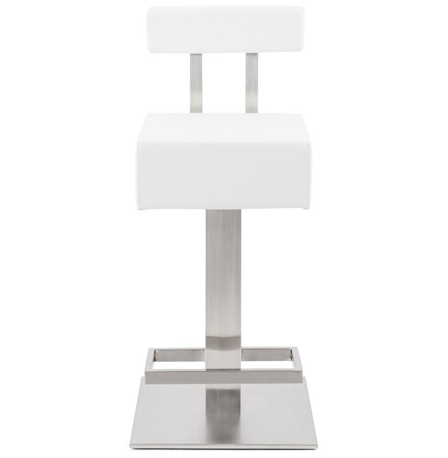 Moderná barová stolička Ryan biela