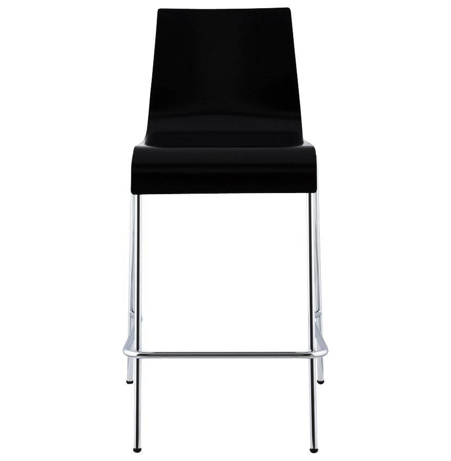 Moderná barová stolička Henry čierna