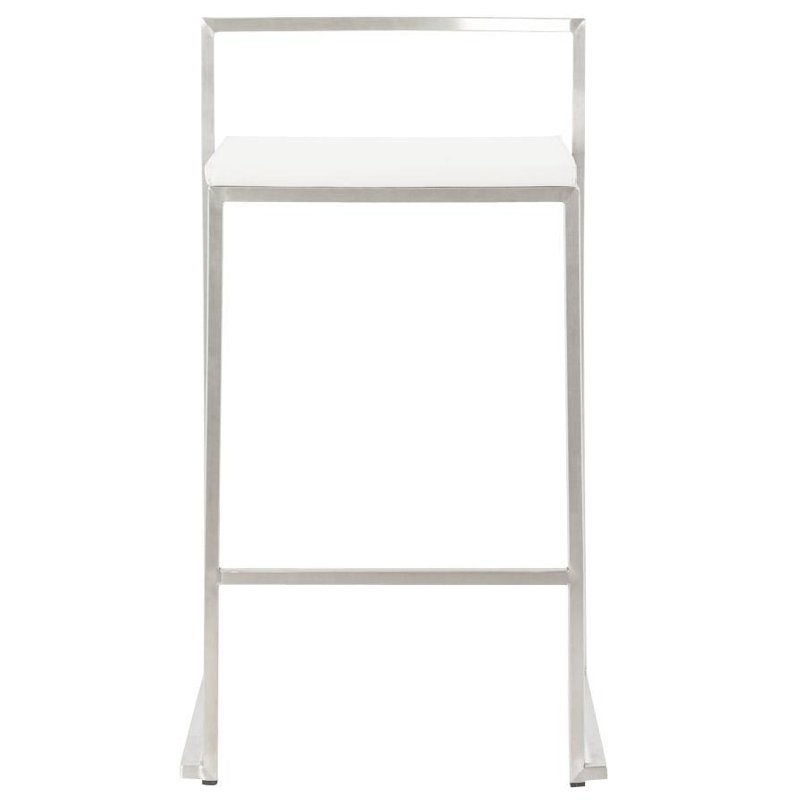 Moderná barová stolička Owen biela - SKLADOM na Slovensku