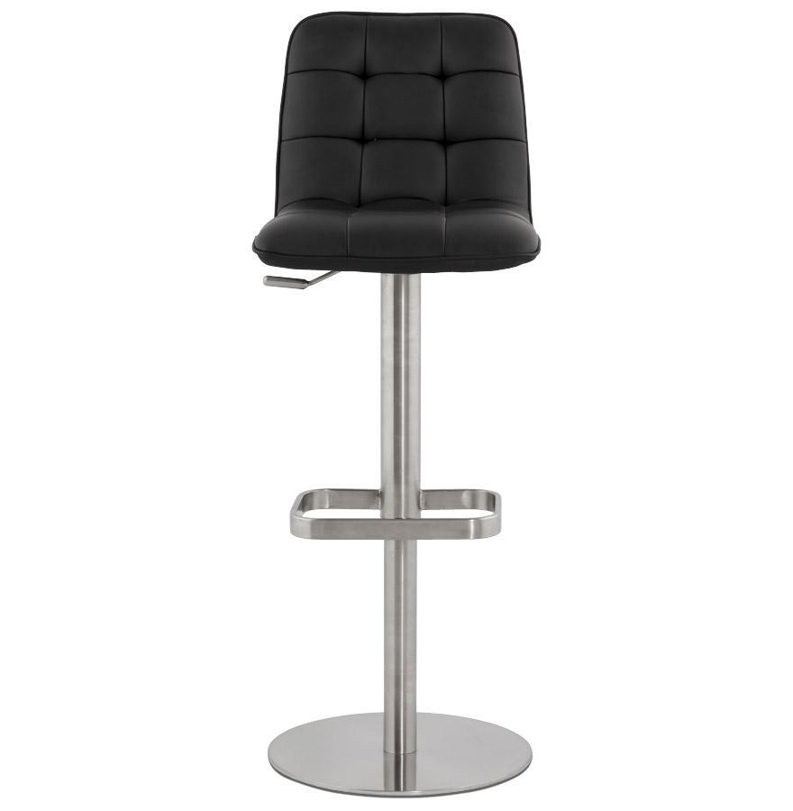 Moderná barová stolička Nathan čierna