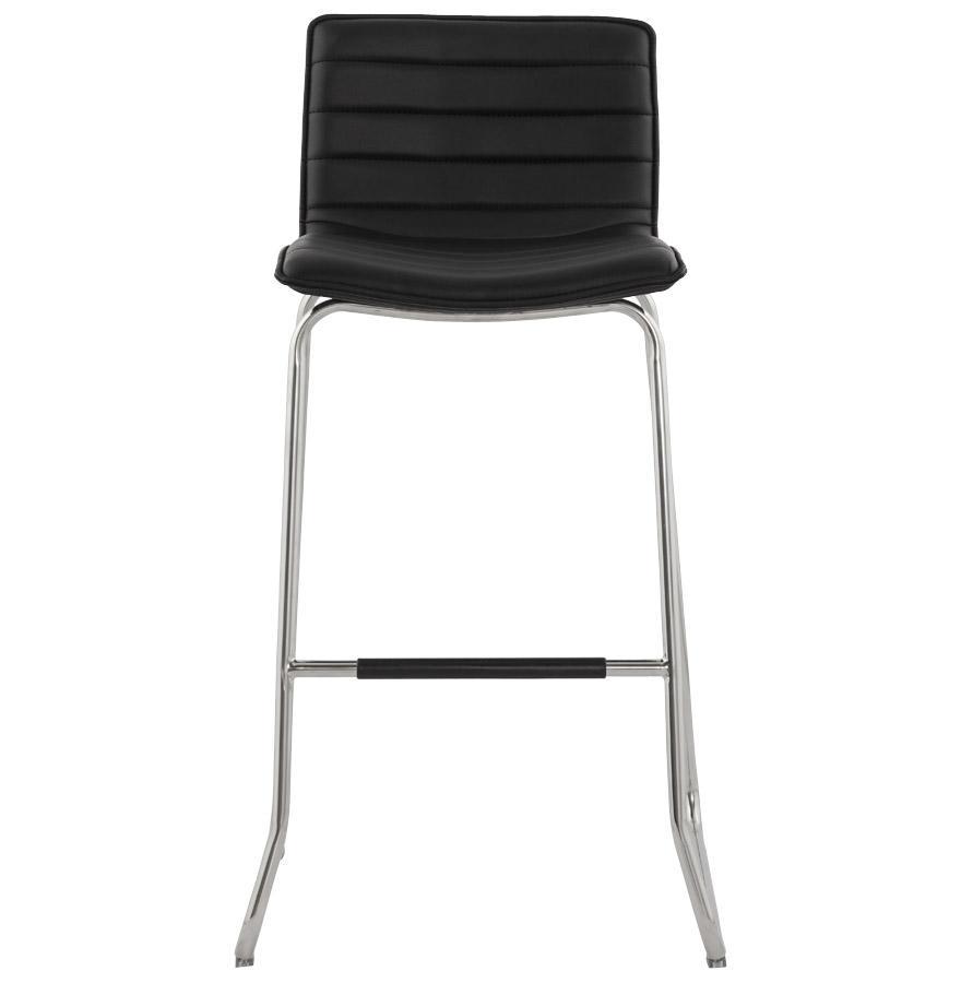 Moderná barová stolička Andrew čierna