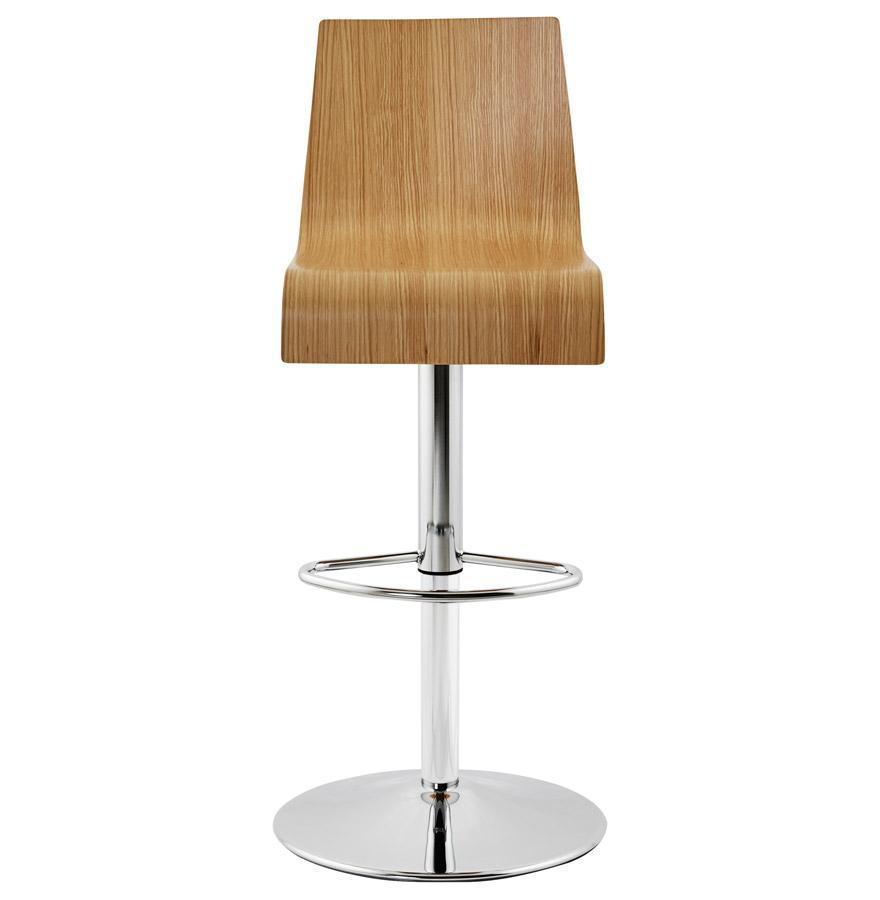 Moderná barová stolička Cameron drevená