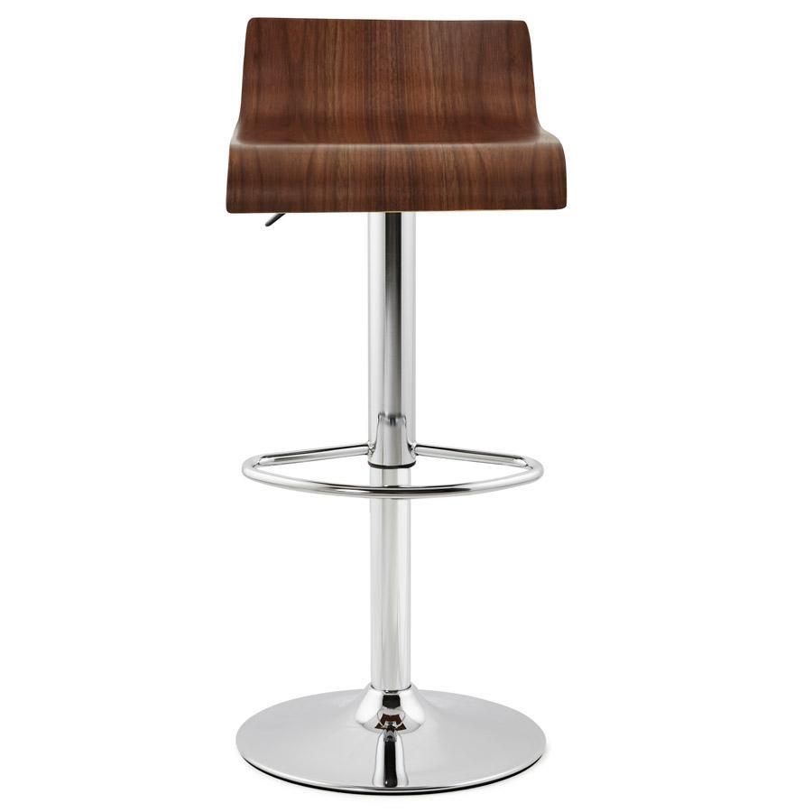 Moderná barová stolička Eli hnedá